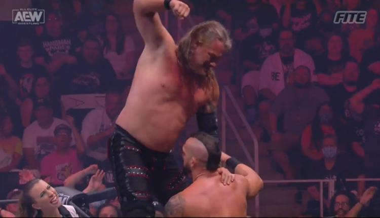 AEW Fyter Fest Results: Chris Jericho vs. Shawn Spears - First Labor Of Jericho (07/21)